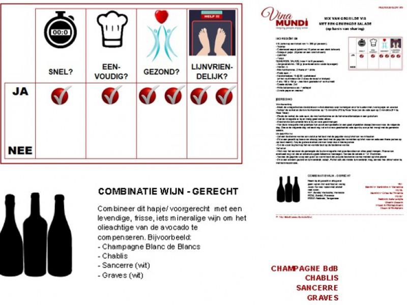 Steeds wijnen met heerlijke bijpassende recepten