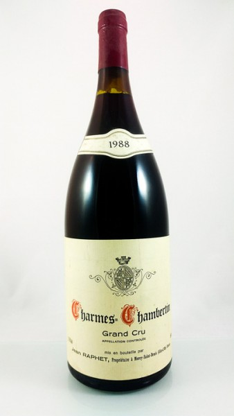 Jean Raphet & Fils -- Charmes Chambertin -- 1988 -- 1.5 l