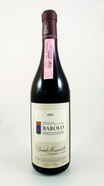 Bartolo Mascarello -- Barolo -- 1989 -- 75 cl