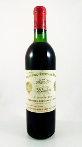 Château Cheval Blanc -- Saint-Émilion -- 1er Grand Cru Classé A -- 1970 -- 75 cl