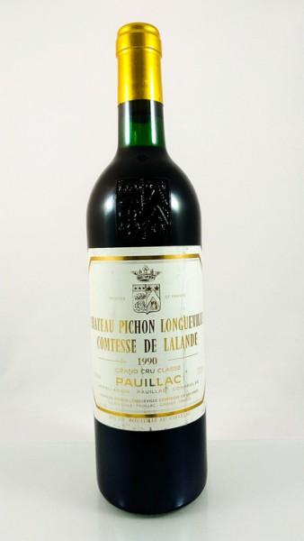 Ch Pichon Longueville Comtesse de Lalande - Pauillac - 1990 - 75 cl