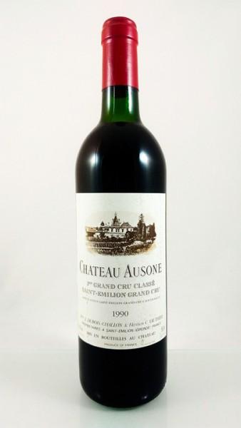Château Ausone -- Saint-Émilion -- 1er grand cru classé A -- 1990 -- 75 cl