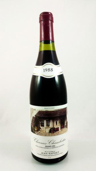 Jean Raphet & Fils -- Charmes Chambertin -- 1988 -- 75 cl