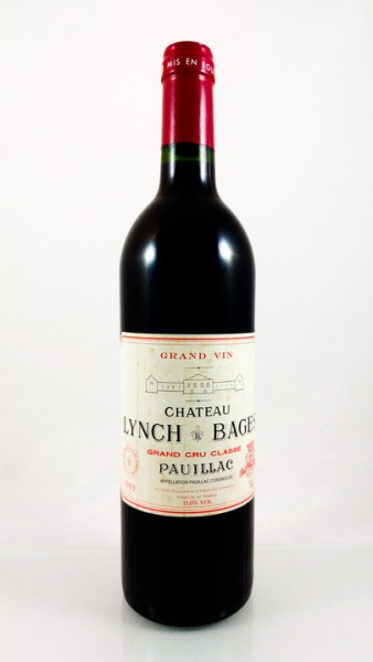 Château Lynch-Bages  -- Pauillac -- 1993 -- 75 cl