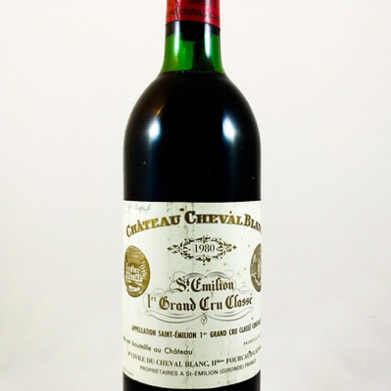 Château Cheval Blanc -- Saint-Émilion -- 1er Grand Cru Classé A -- 1980 -- 75 cl