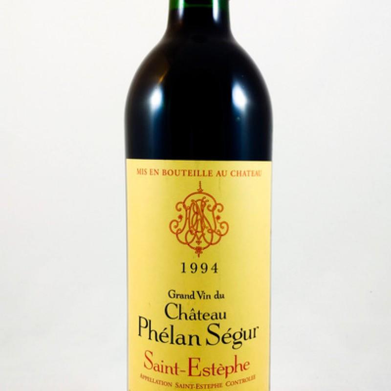 Château Phélan Ségur -- Saint-Estèphe -- 1994 -- 75 cl