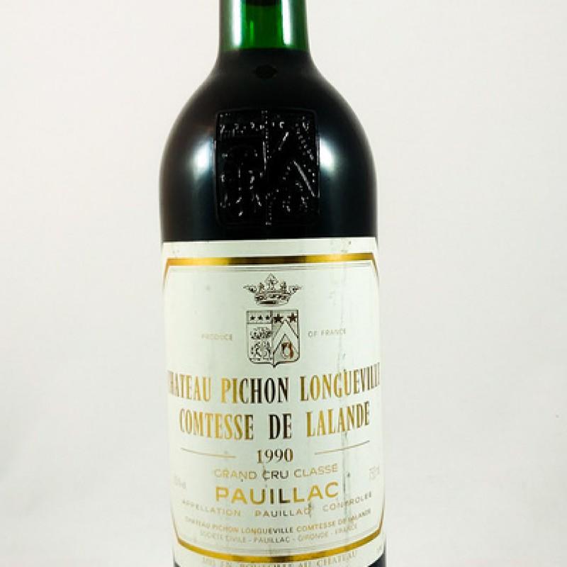Château Pichon Longueville -- Pauillac -- 1990 -- 75 cl