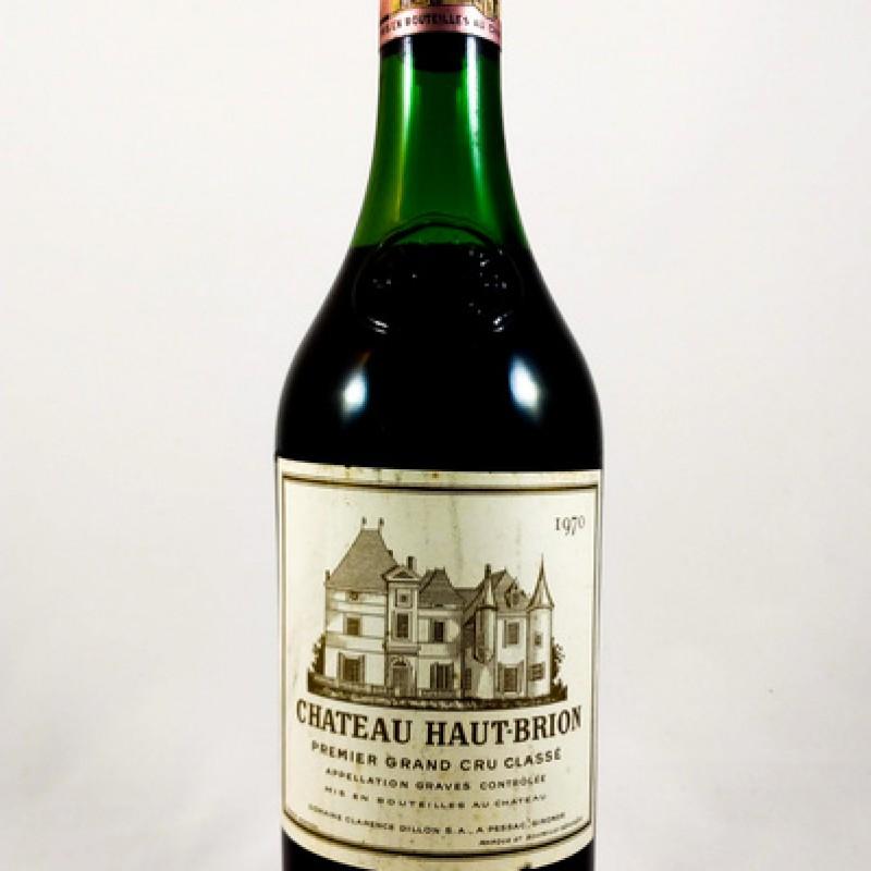Château Haut-Brion -- Pessac-Léognan -- 1970 -- 75 cl