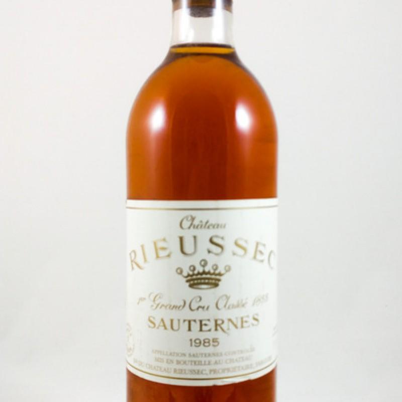 Château Rieussec -- Sauternes -- 1er Cru Classé 1855 -- 1985 -- 75 cl