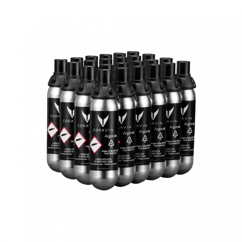 CORAVIN --- capsules met argongas (24)