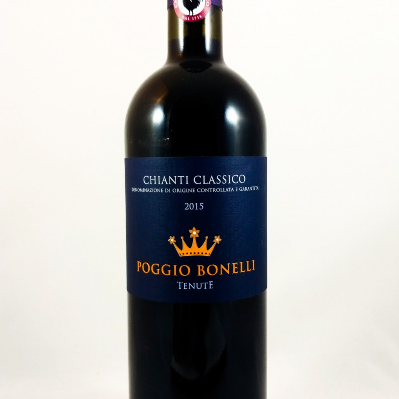 Poggio Bonelli -- Chianti Classico -- 2015 -- 75 cl