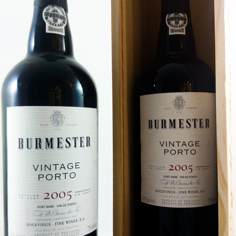 Burmester --- Vintage Port --- 2005 --- 75 cl