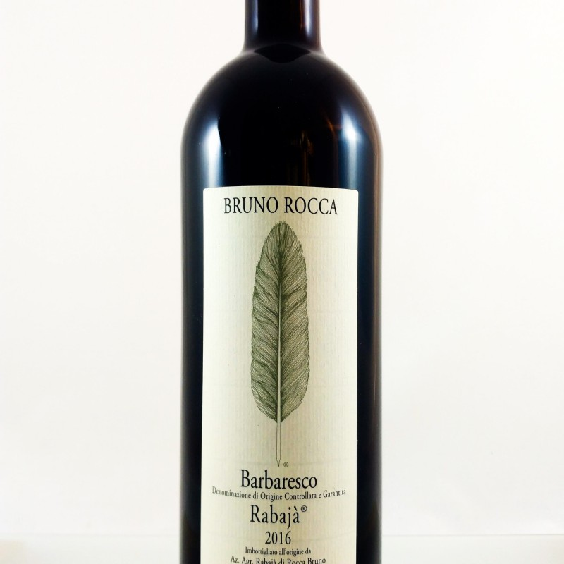 "Bruno Rocca --- Barbaresco ""Rabajà"" --- 2016 --- 75 cl"