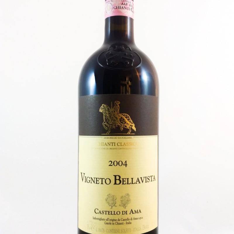 """Castello di Ama --- Chianti Classico Gran Selezione """"Bellavista"""" --- 2004 --- 75 cl"""